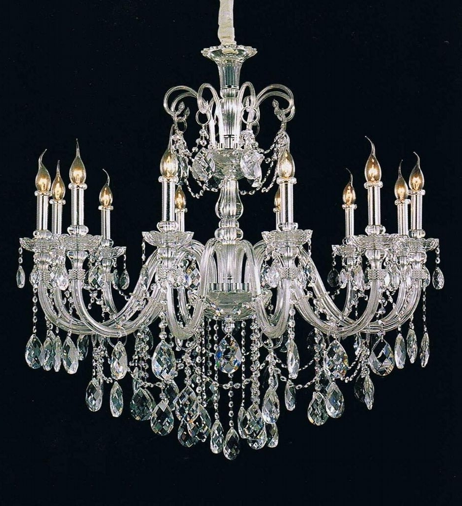 Figaro Production Ideas Throughout Best And Newest Expensive Crystal Chandeliers (View 2 of 15)