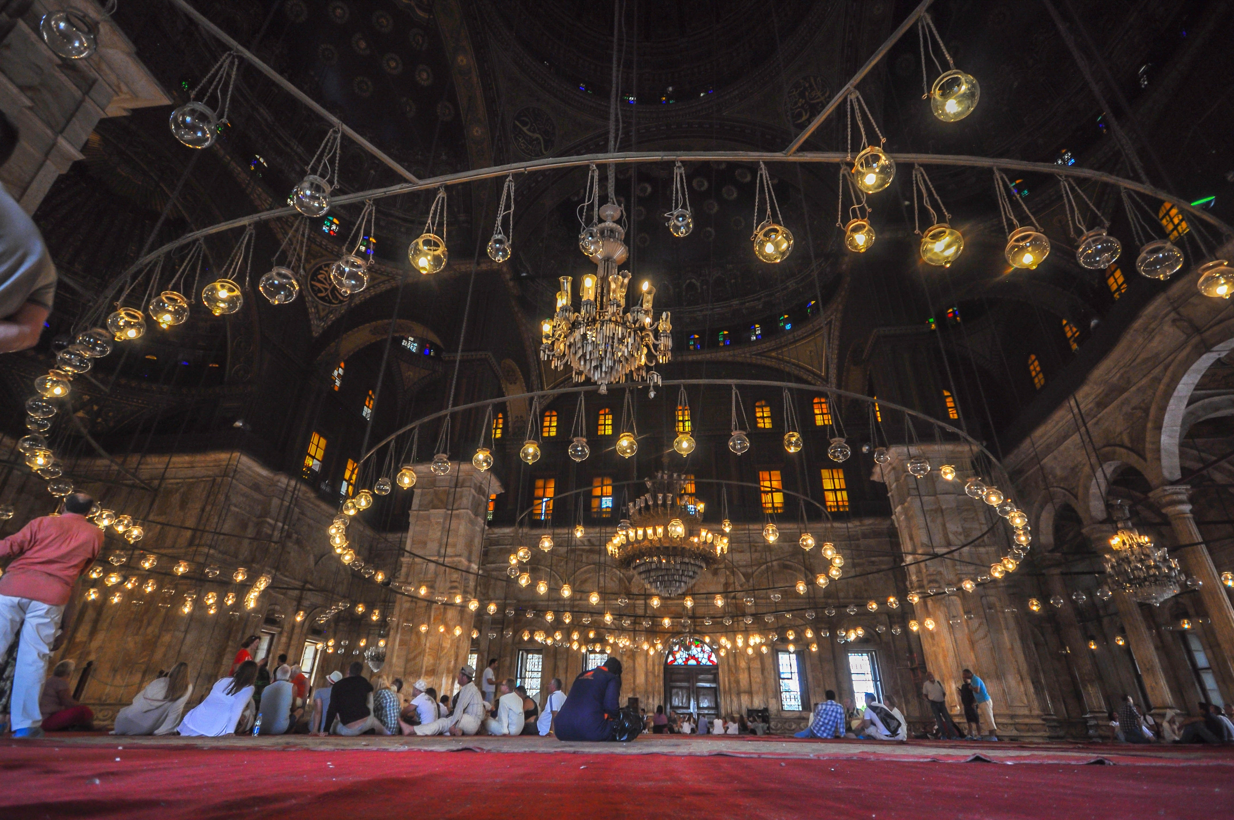 File:massive Chandelier – Mosque Of Muhammad Ali (14772980946) Intended For Widely Used Massive Chandelier (View 6 of 15)
