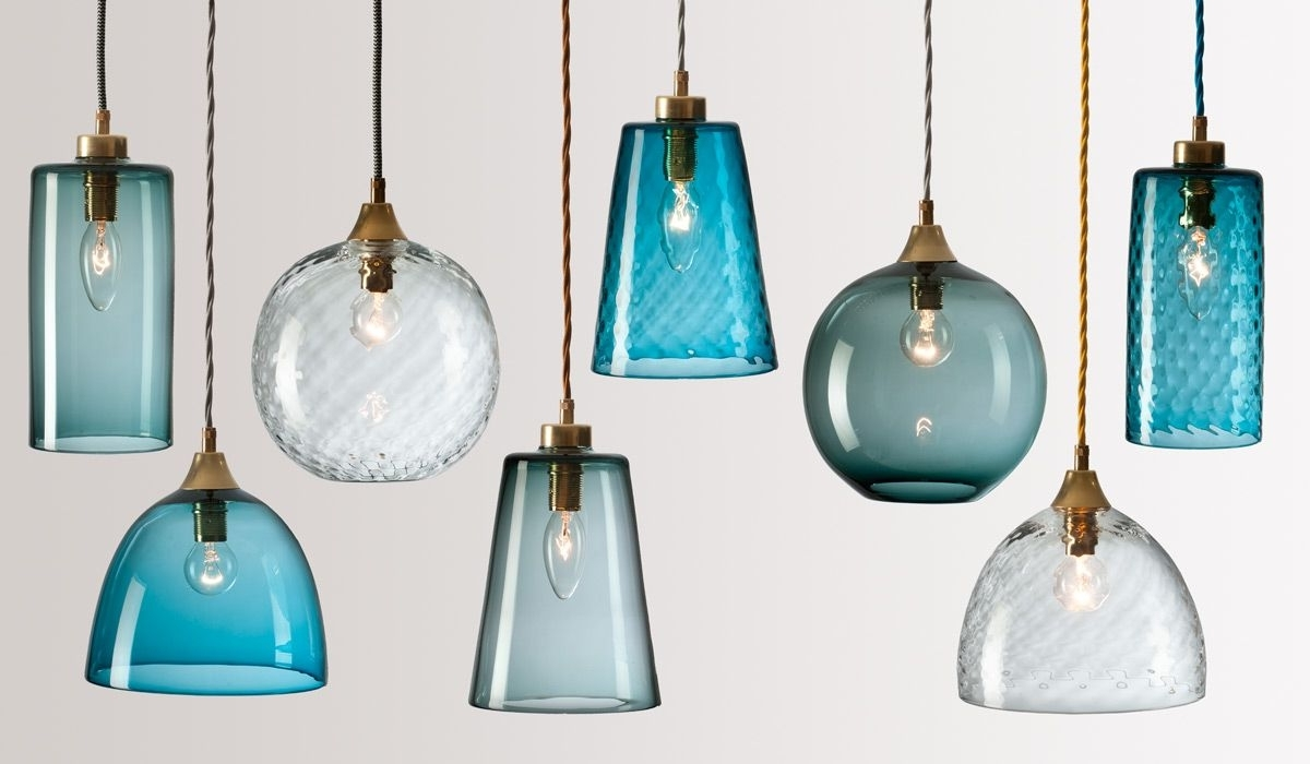 Flodeau – Handblown Glass Lightingrothschild Bickers 03 With Regard To Most Recent Turquoise Blown Glass Chandeliers (View 4 of 15)