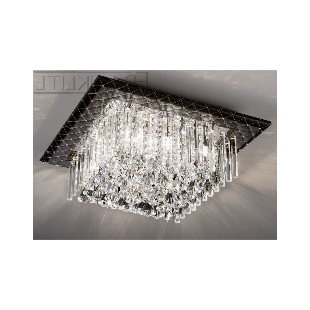 Featured Photo of Flush Chandelier Ceiling Lights