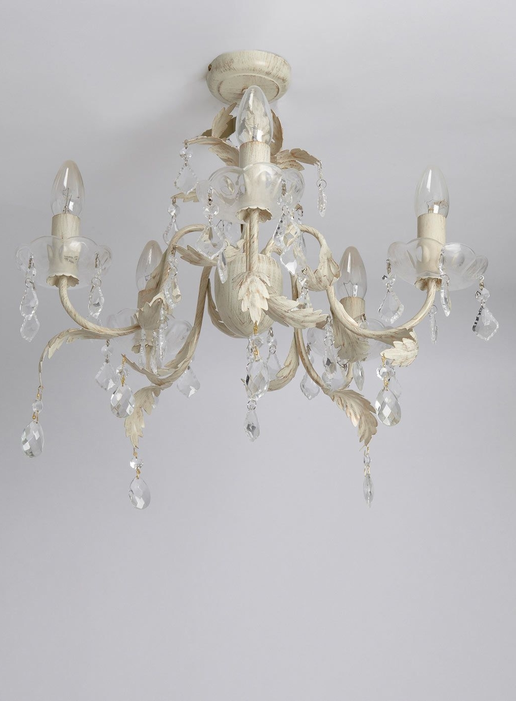Flush Fitting Chandeliers Intended For Most Recently Released Juliette 5 Light Flush Fitting Chandelier – Ceiling Lights – Home (View 13 of 15)