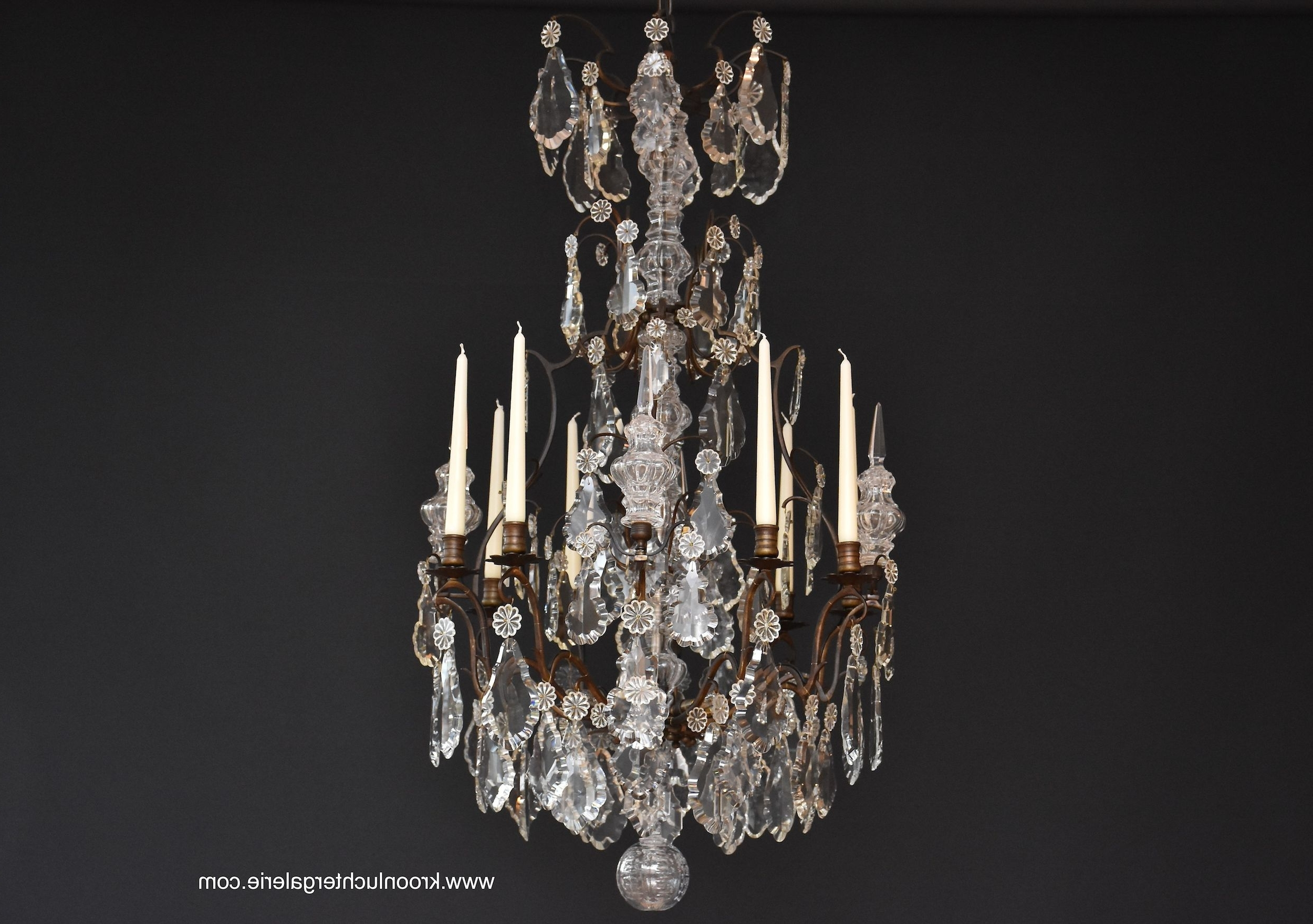 French Chandelier In Style Of Louis Xv, Ref (View 7 of 15)