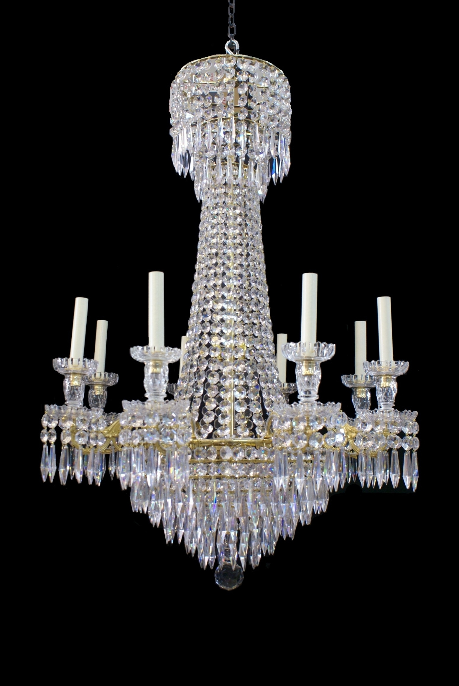 Georgian Chandeliers Throughout Most Recent Antique – Wilkinson Plc (Gallery 9 of 15)