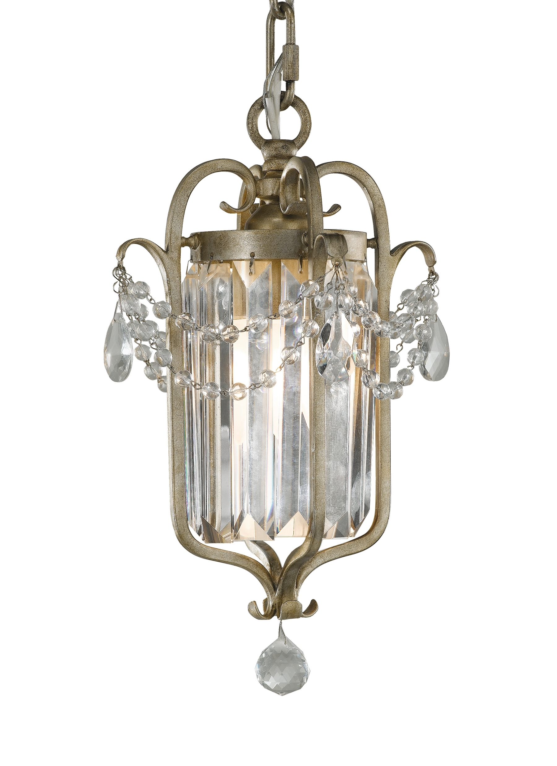 Gianna Mini Chandeliers Throughout Latest F2474/1Gs,1 – Light Mini Duo Chandelier,gilded Silver (Gallery 5 of 15)