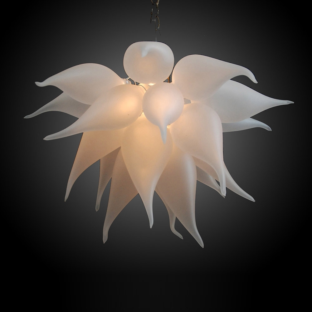 Glass Chandeliers Throughout Well Liked Buy The Bella Fiore 169 Hand Blown Glass Chandelier (Gallery 13 of 15)