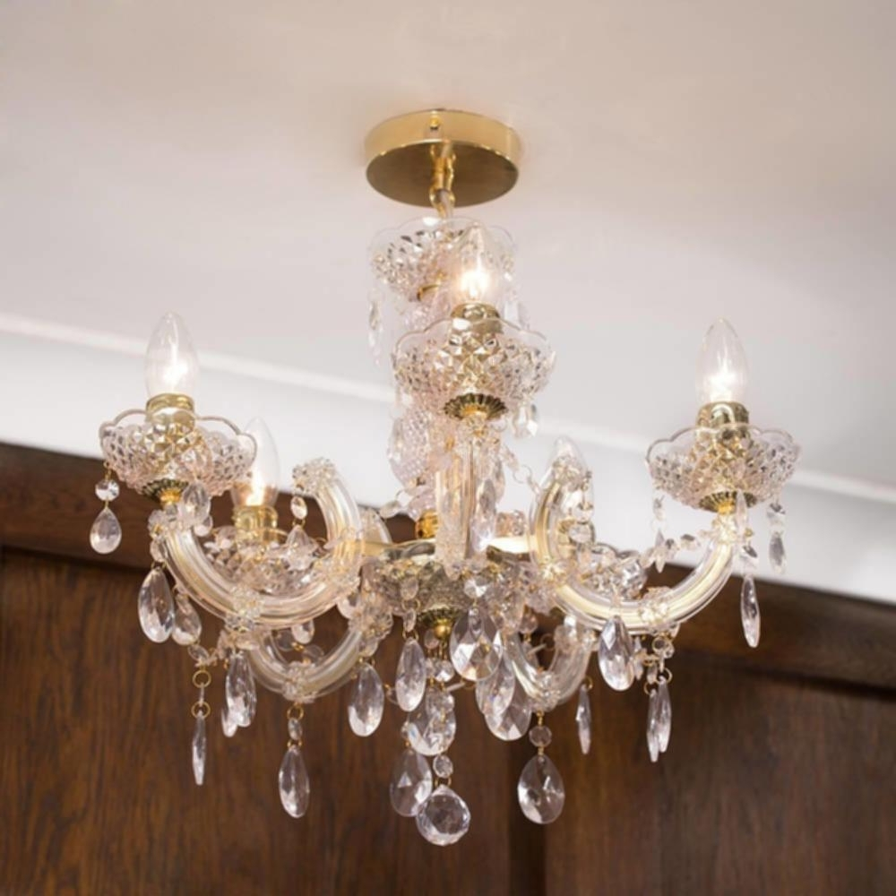 Gold Chain Chandelier C01 Lc2066 Short Chain Chandeliers Images With Regard To Most Recently Released Short Chandeliers (View 5 of 15)