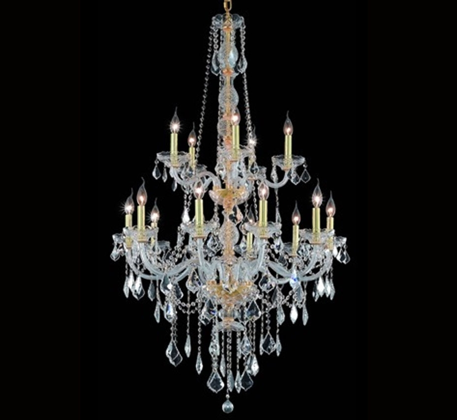 Grand Light Inside Extra Large Crystal Chandeliers (Gallery 1 of 15)