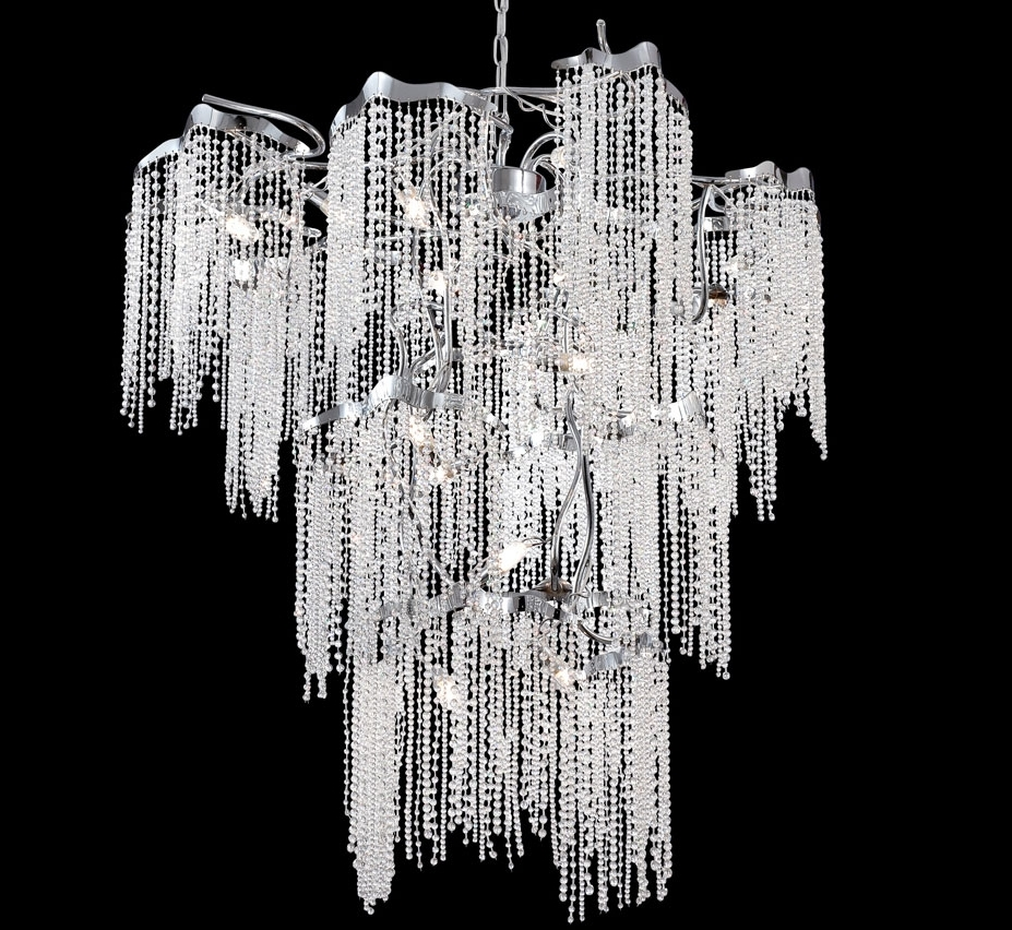 Grand Light Throughout Extra Large Crystal Chandeliers (Gallery 3 of 15)