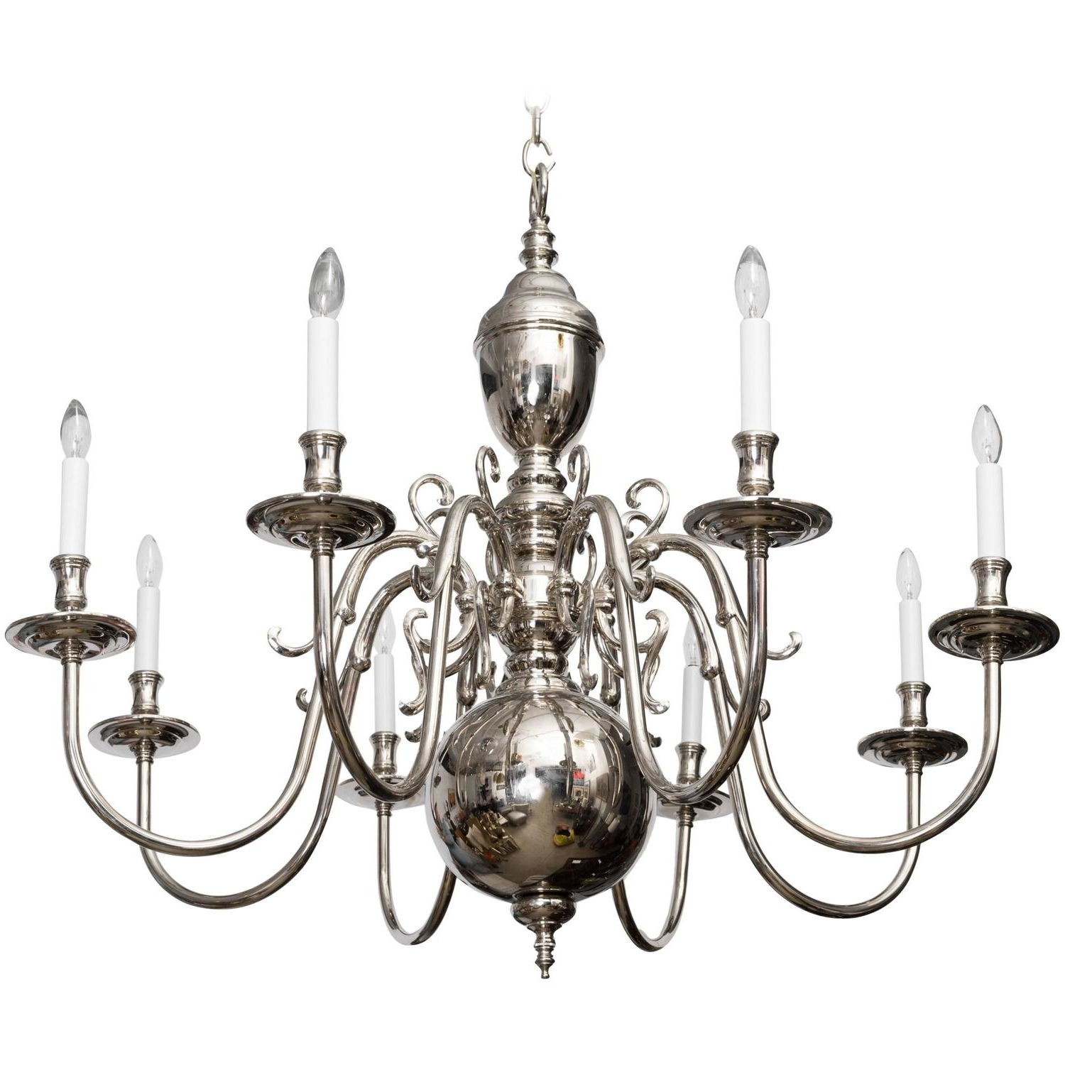 Grand Scale Georgian Style Chandelier (View 9 of 15)