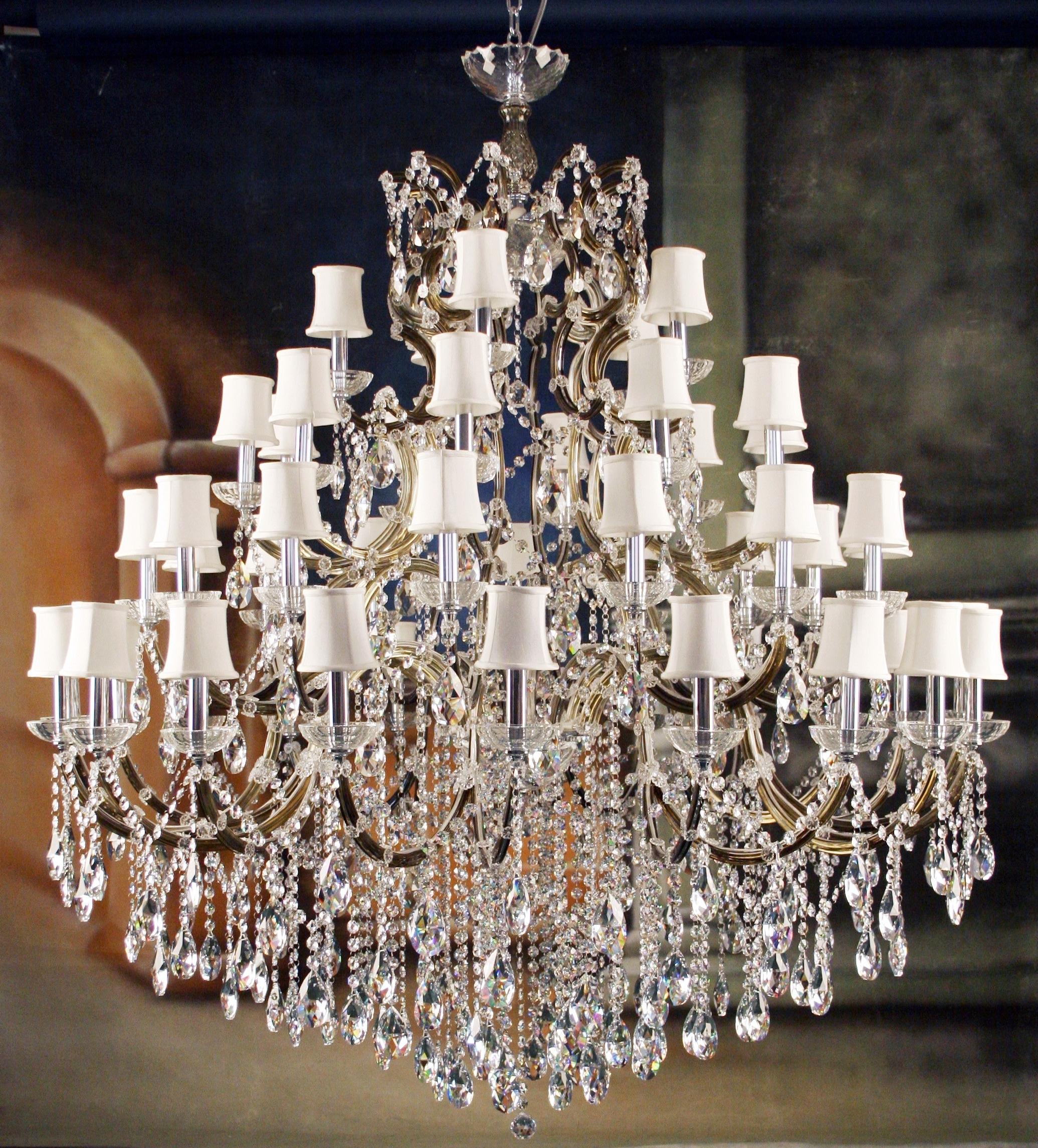 Great Impressive Unique Crystal Chandeliers Designer Lighting Unique For Preferred Huge Crystal Chandelier (View 11 of 15)