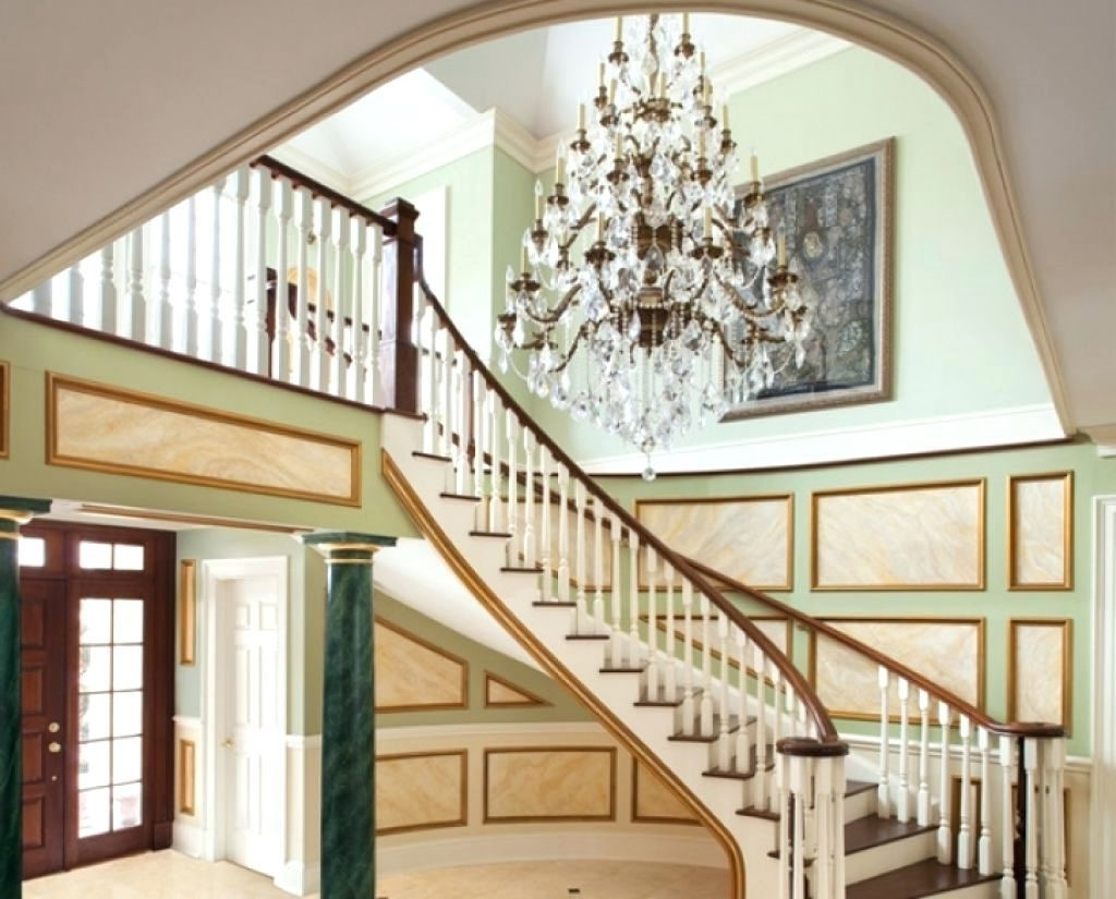 Hallway Chandeliers For Famous Chandeliers Design : Magnificent Chandeliers For Foyer Hallway With (View 8 of 15)