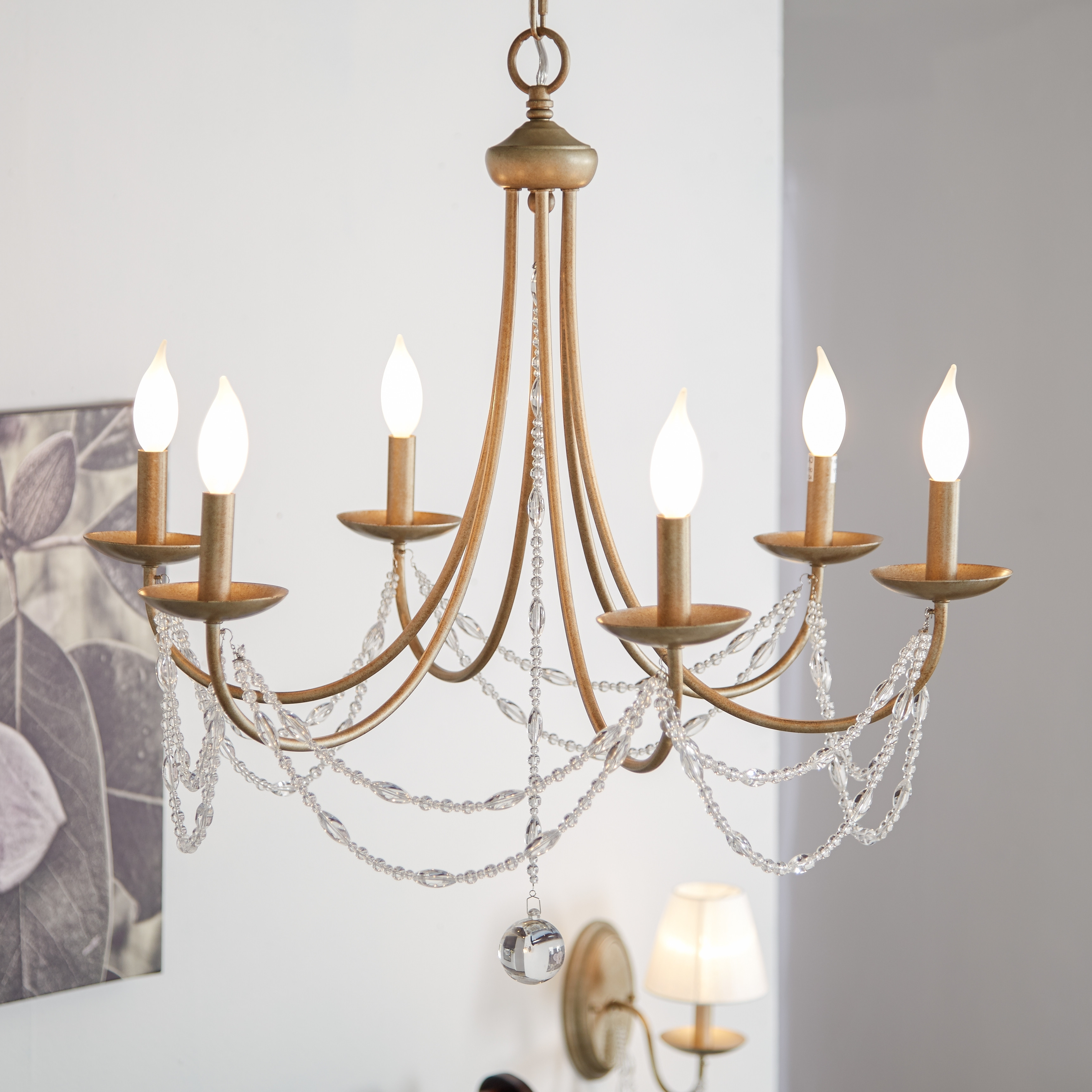 Hanging Candelabra Chandeliers In Newest Lighting: Wonderful Candle Chandelier Non Electric For Modern Lights (View 13 of 15)