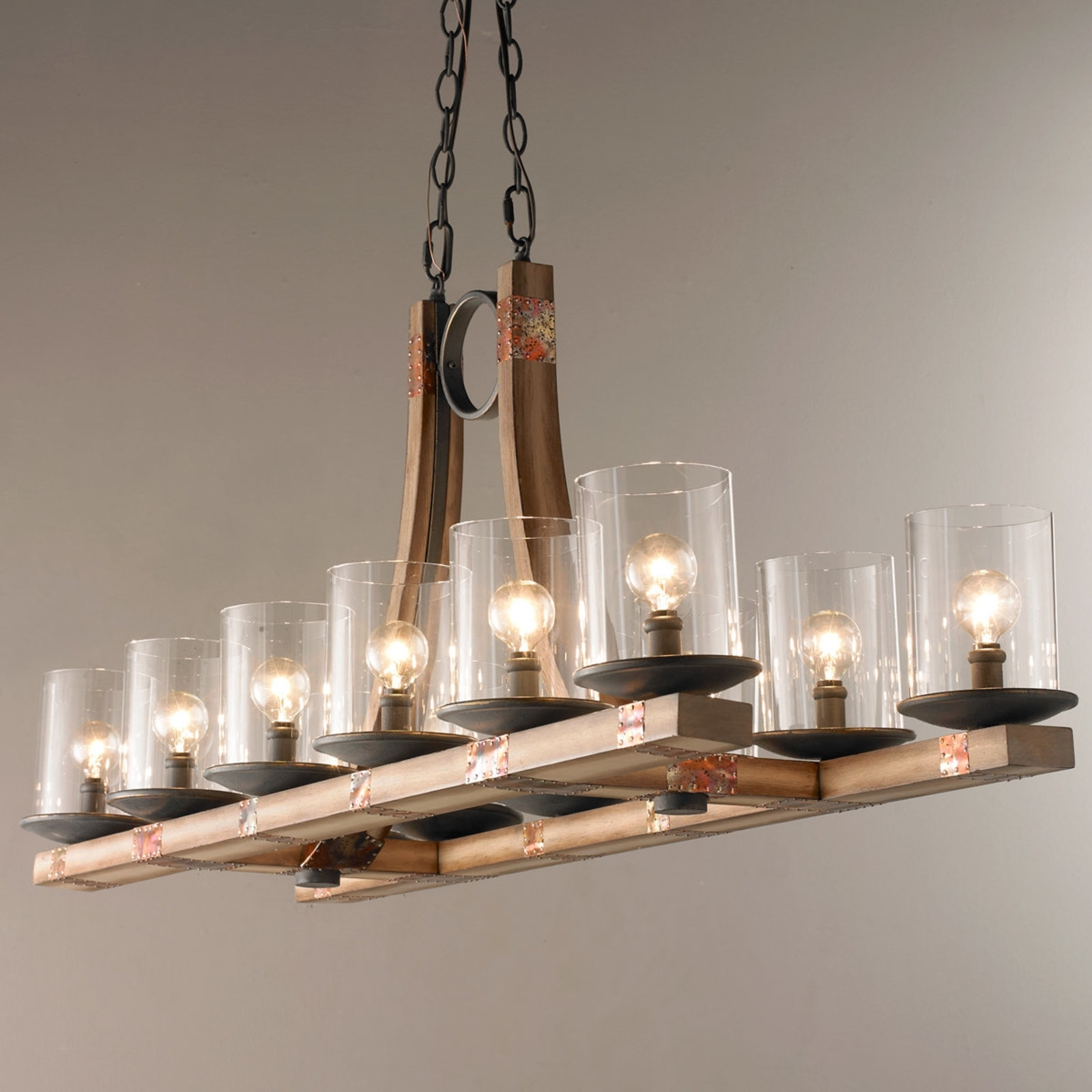 Hanging Candle Chandeliers Inside Favorite Hanging Candle Chandelier Wooden – Chandelier Designs (View 7 of 15)