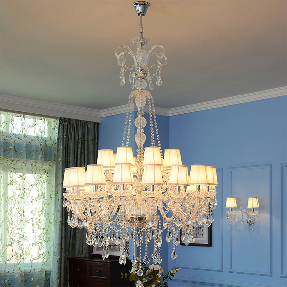 High Ceiling Chandeliers Crystal Ball Chandelier Modern Staircase Pertaining To 2017 Stairwell Chandeliers (View 7 of 15)