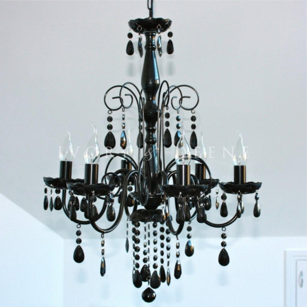 Home Design Regarding Best And Newest Large Black Chandelier (View 4 of 15)
