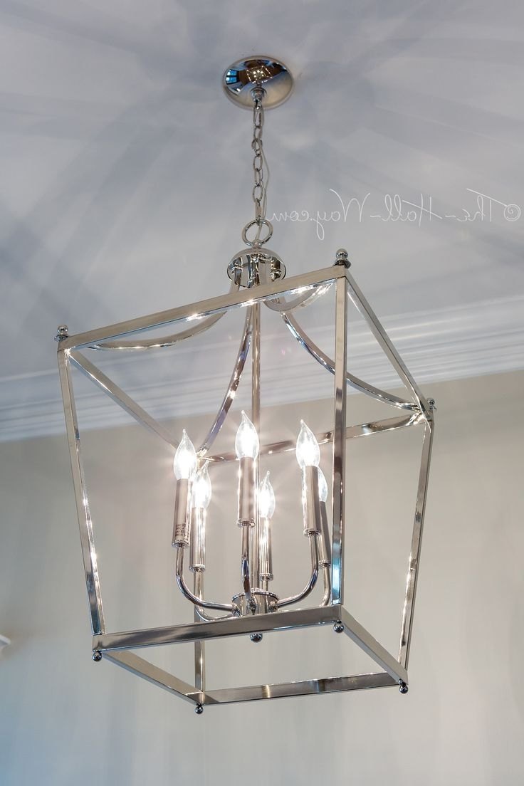 Indoor Lantern Chandelier Intended For 2017 72 Beautiful Good Looking Lantern Chandelier Wonderful Indoor Foyer (View 8 of 15)