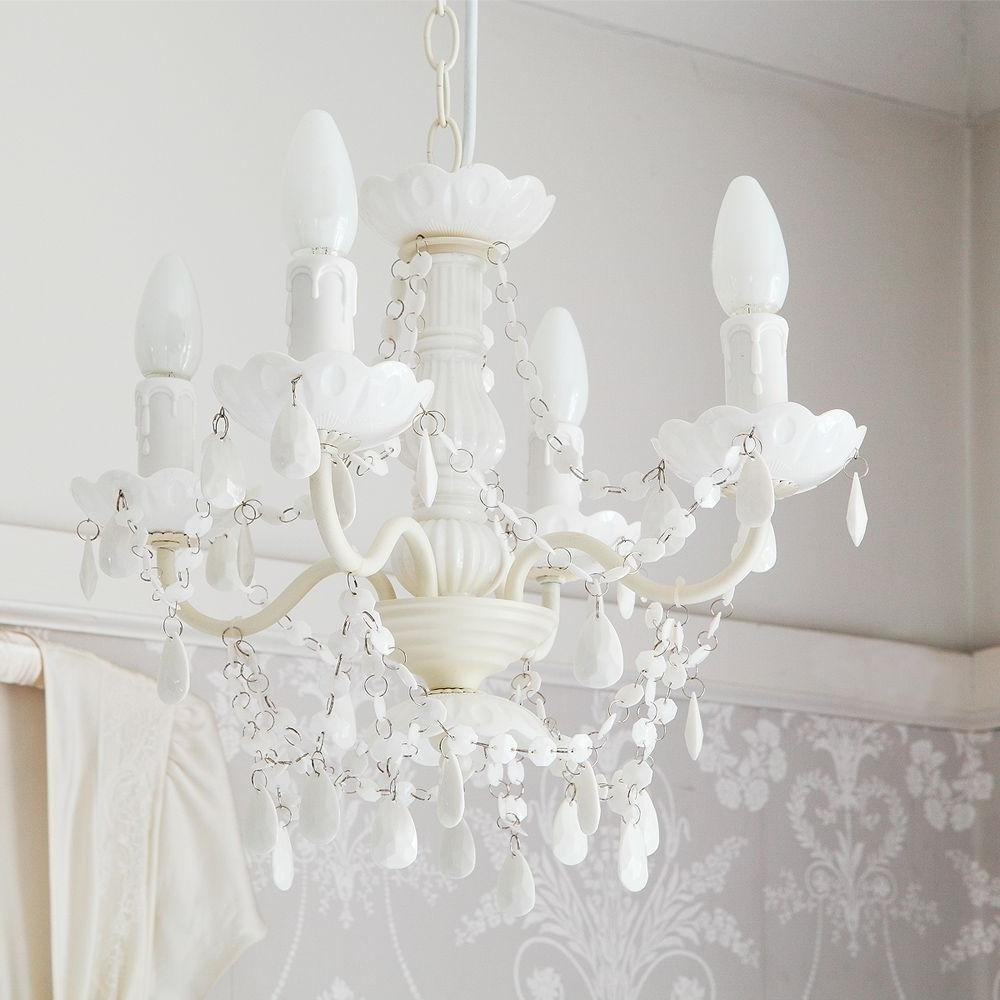 Interior Bedroom Stylish Bedroom Design Inside White Chandeliers (View 8 of 15)