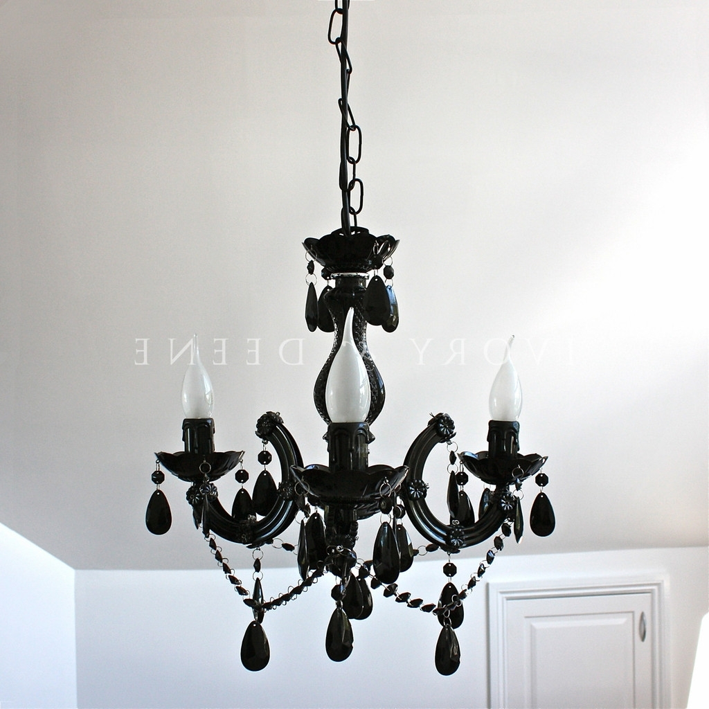 Interior Design Ideas Within 2017 Vintage Black Chandelier (View 2 of 15)