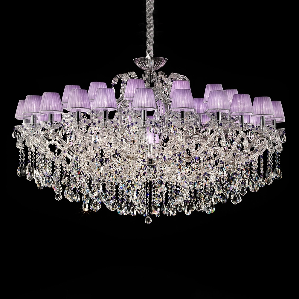 Juliettes Interiors Within Large Glass Chandelier (View 4 of 15)