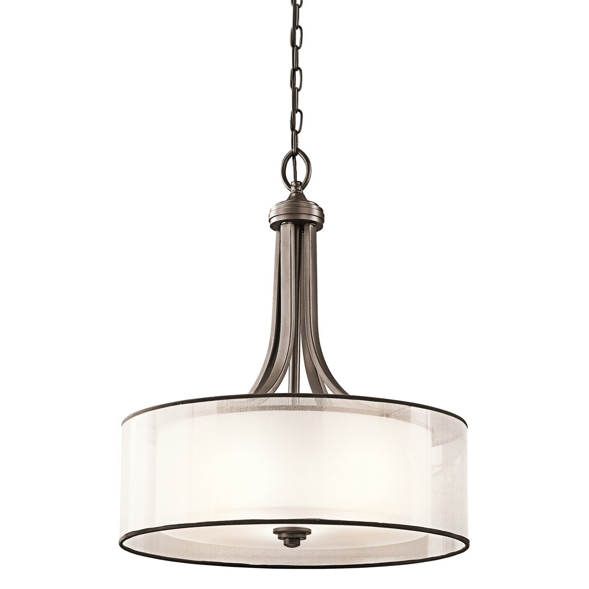 Kichler 42385Miz Four Light Pendant – Ceiling Pendant Fixtures Pertaining To Most Current Inverted Pendant Chandeliers (View 4 of 15)