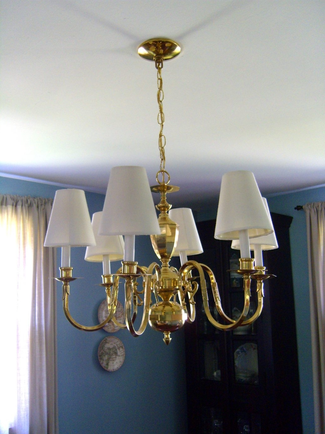 Lampshade Chandeliers Inside Latest Drum Lamp Shades For Chandeliers Large Chandelier Better Lamps (View 6 of 15)