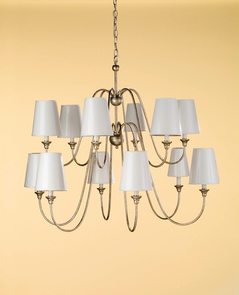 Lampshade Chandeliers Intended For Recent What Is An Empire Lampshade? – Concord Lamp And Shade (View 8 of 15)