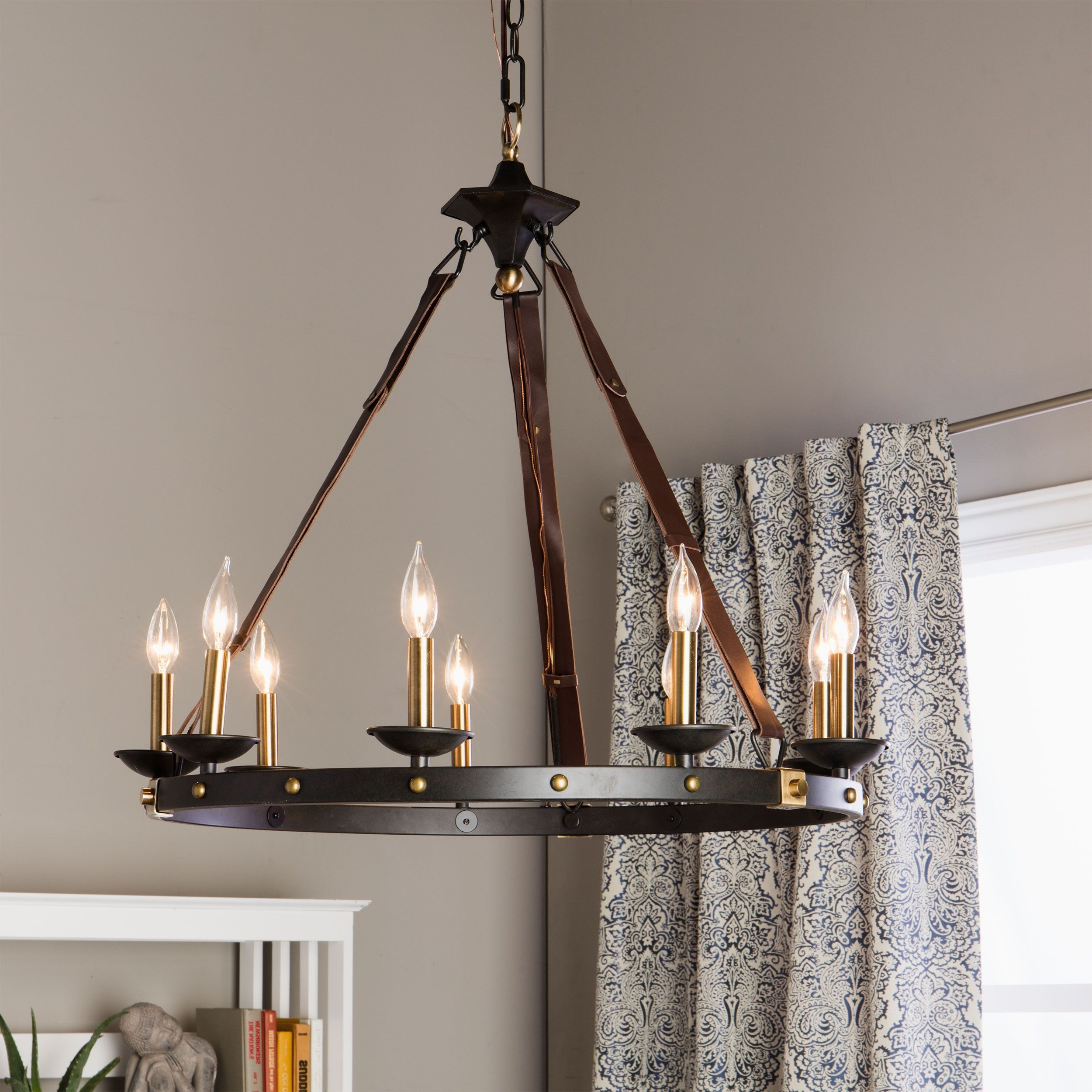Large Black Chandelier Within Newest Rustic Meets Contemporary In This Beautiful Cavalier Chandelier (View 6 of 15)
