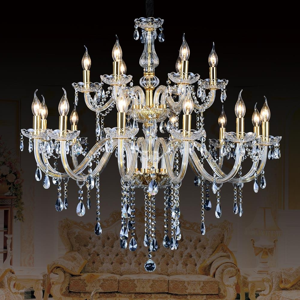 Large Contemporary Chandeliers Inside Most Up To Date Modern Ceiling Chandelier For Kitchen Large Contemporary Crystal (View 15 of 15)