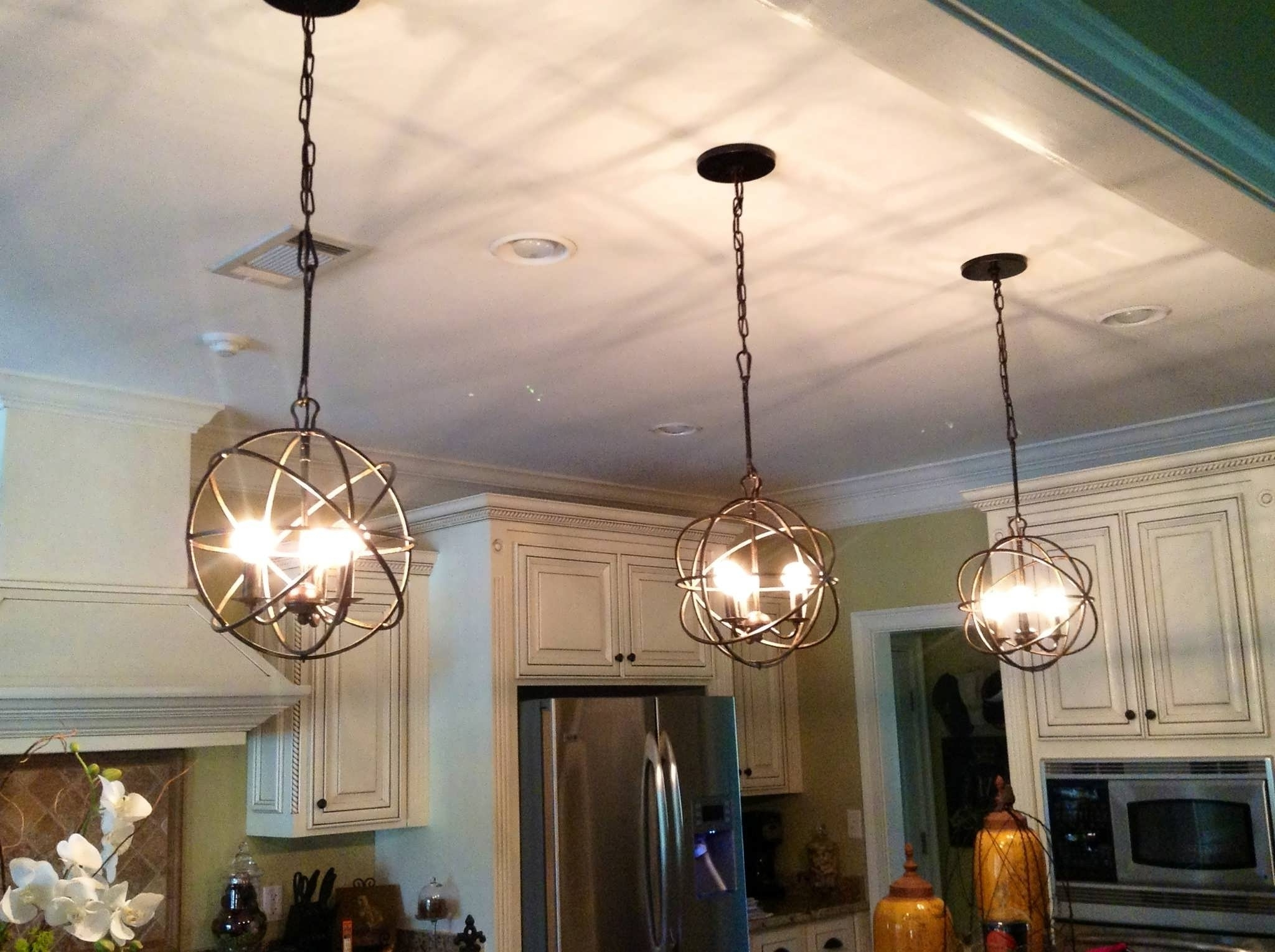 Large Globe Chandelier With Regard To Well Known Chandelier : Chandelier Lights Pendant Ceiling Lights Large Globe (View 10 of 15)
