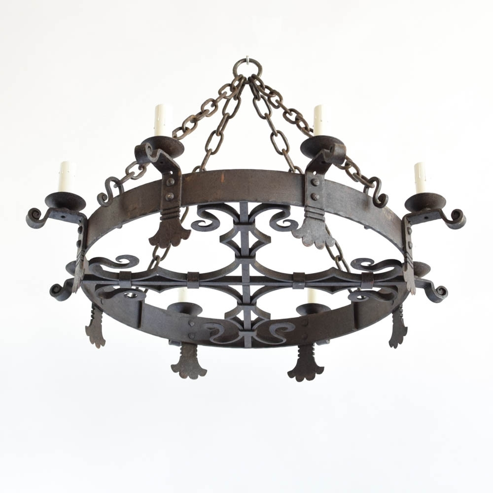 Large Iron Chandeliers Throughout Well Known Chandeliers Archives – The Big Chandelier (View 8 of 15)