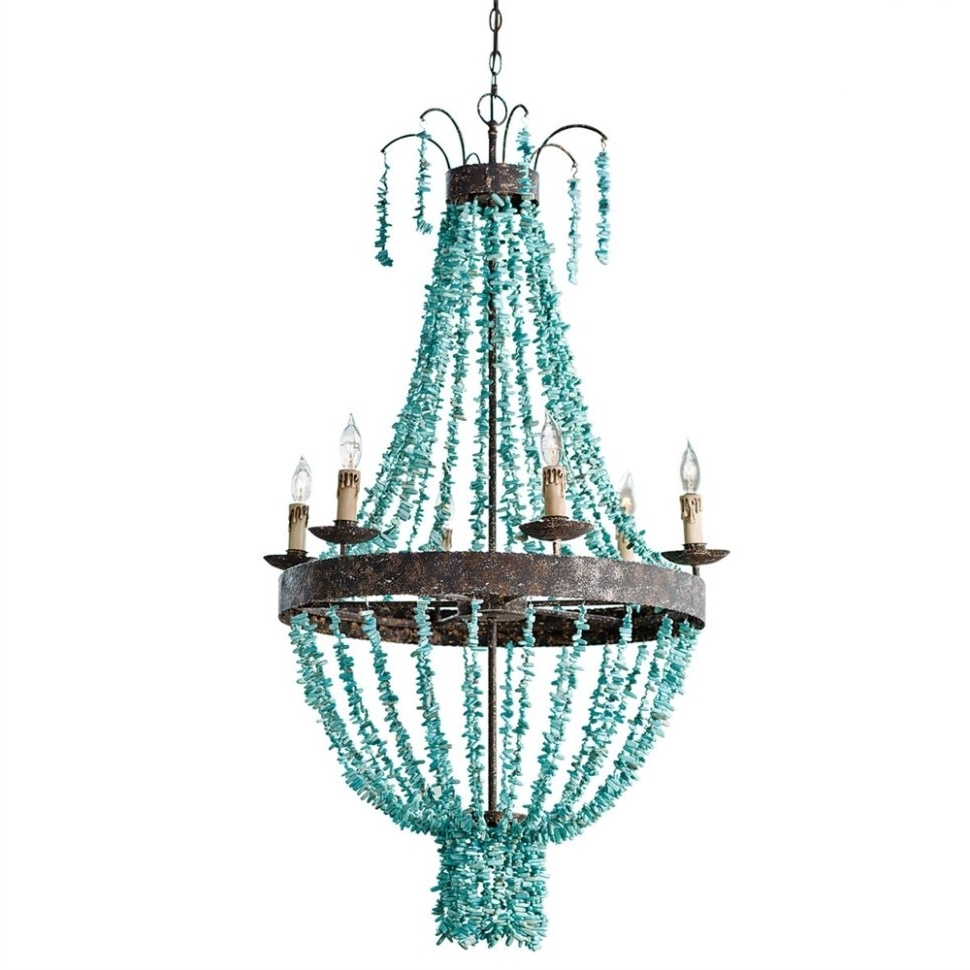 Large Turquoise Chandeliers In 2017 Chandeliers Design : Marvelous Kitchen Island Pendant Lighting White (View 8 of 15)