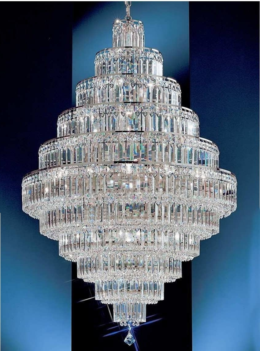 Latest Chandeliers Design : Amazing Beautiful Large Crystal Chandeliers Pertaining To Huge Crystal Chandelier (View 13 of 15)