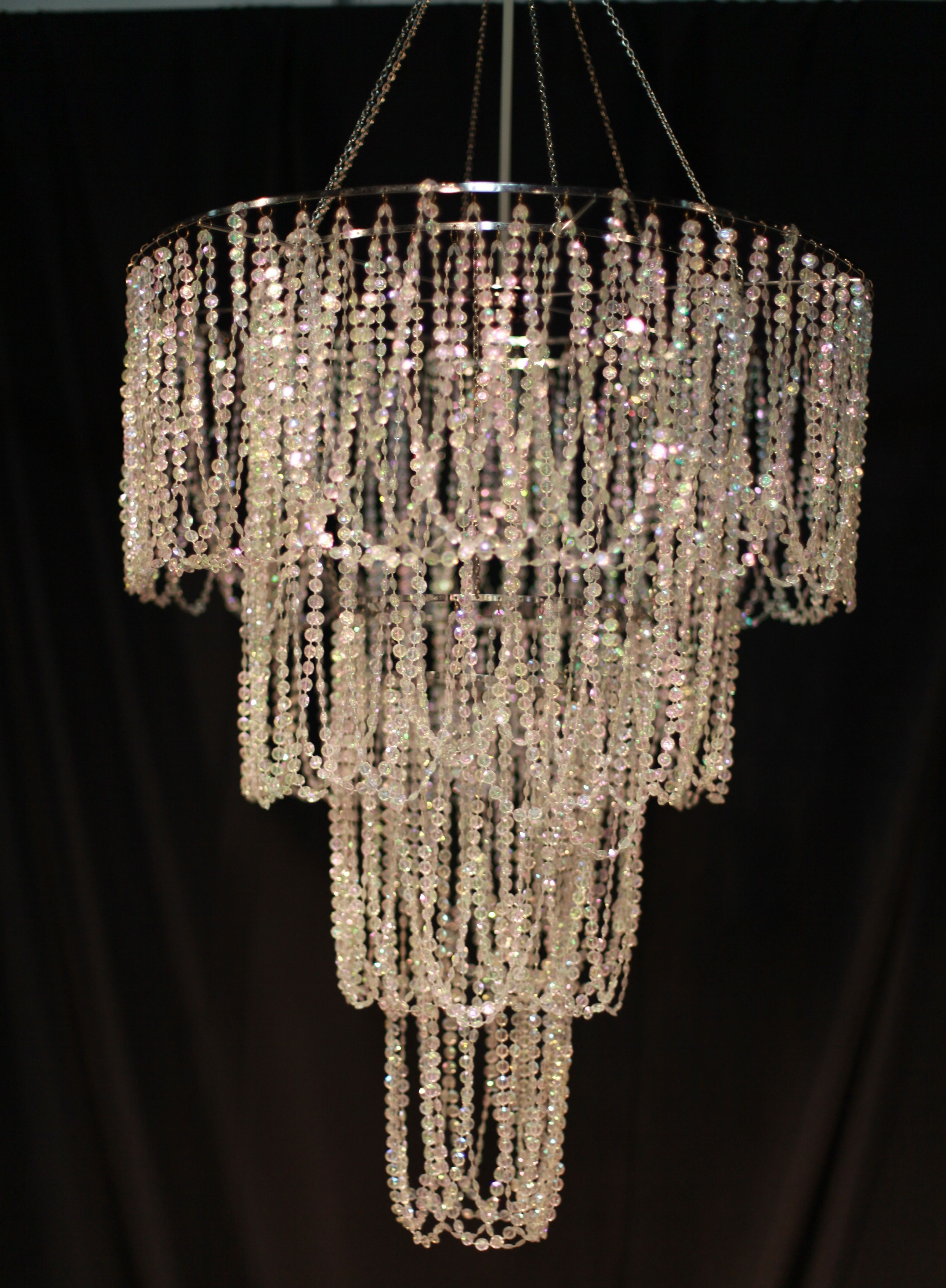 Featured Photo of Faux Crystal Chandeliers