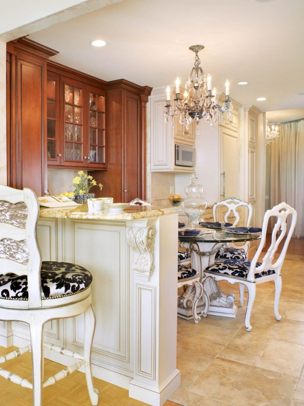 Latest French Country Chandeliers For Kitchen With Chandeliers Design : Fabulous Charming Kitchen Chandelier (View 12 of 15)