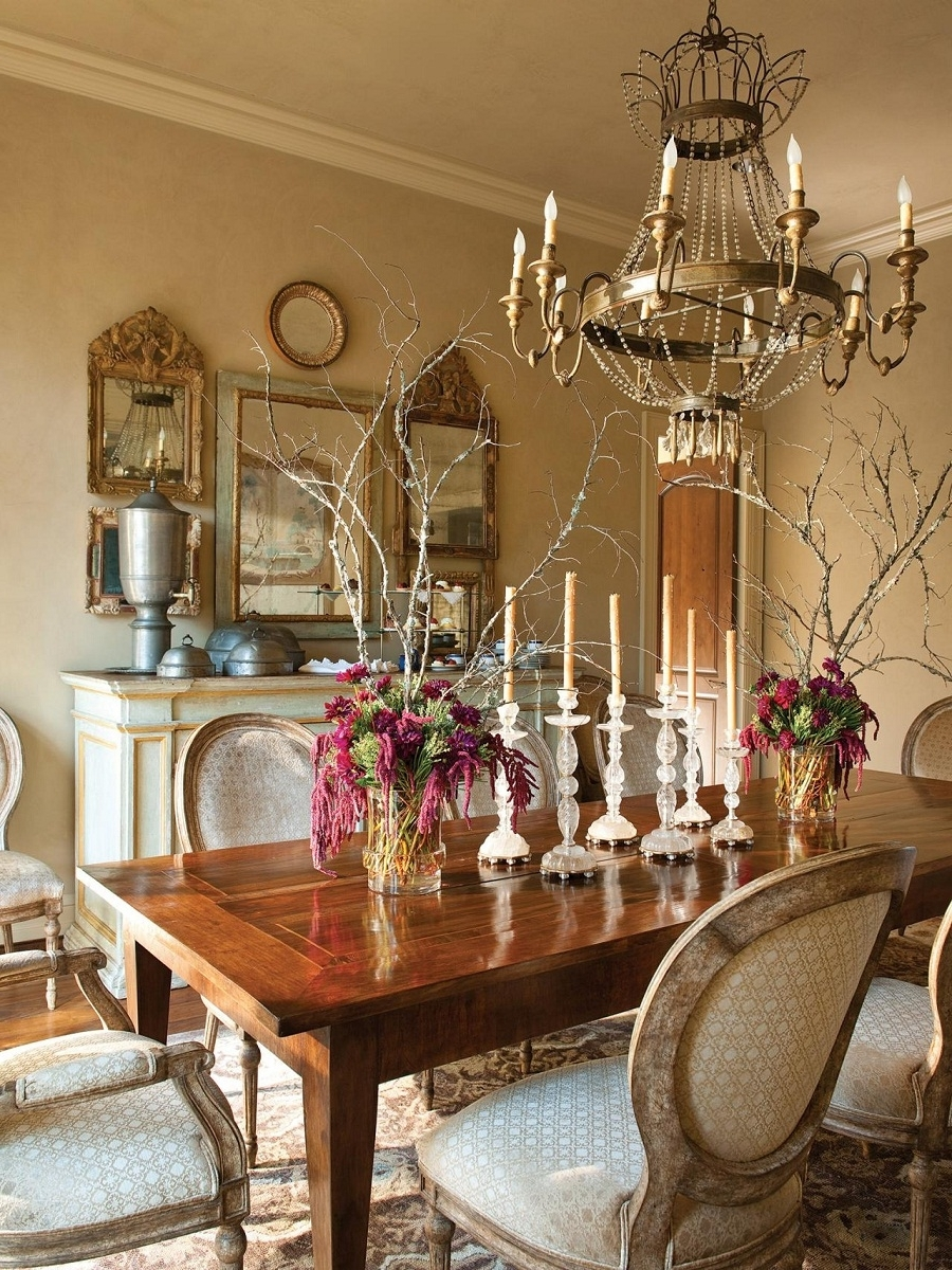 Latest French Wooden Chandelier Throughout Accessories: Appealing French Country Chandelier For Your Home (View 15 of 15)