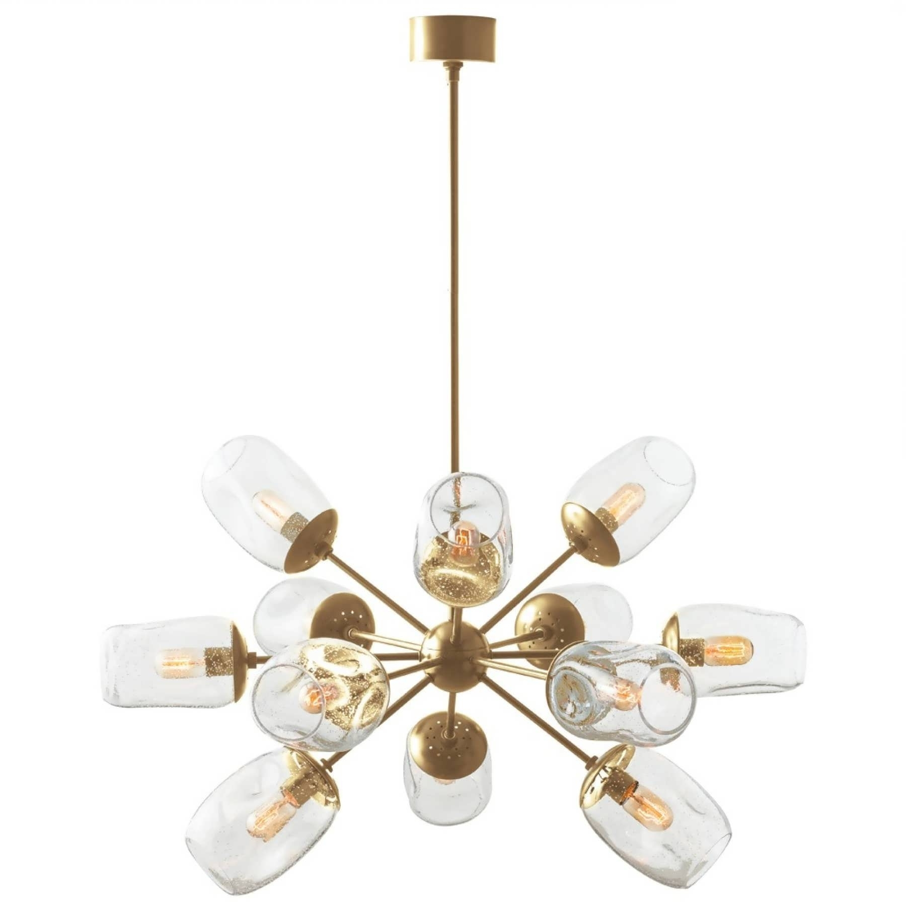 Latest Gold Modern Chandelier Regarding Chandeliers Design : Marvelous Dining Room Chandeliers Large Modern (View 10 of 15)