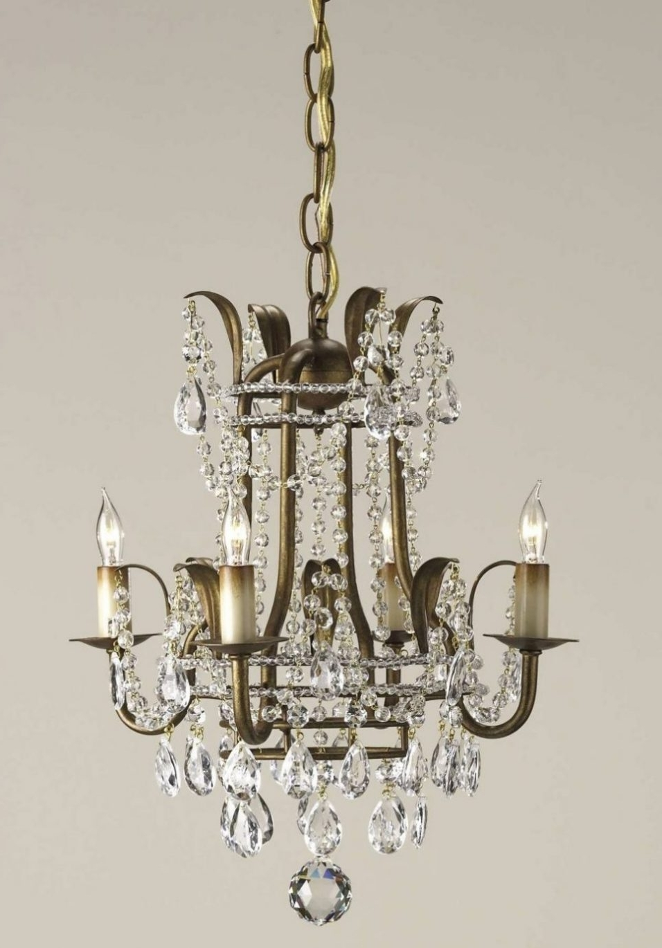 Latest Lighting : Vintage Modern Chandelier Contemporary Crystal Chandelier With Regard To Modern Wrought Iron Chandeliers (View 3 of 15)