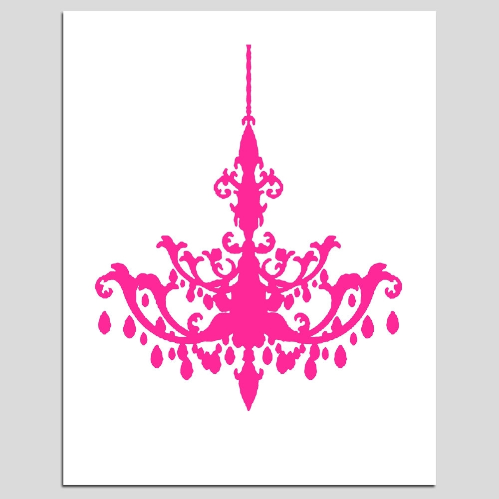 Latest Pink Chandelier Clipart – Clipart Kid (View 4 of 15)