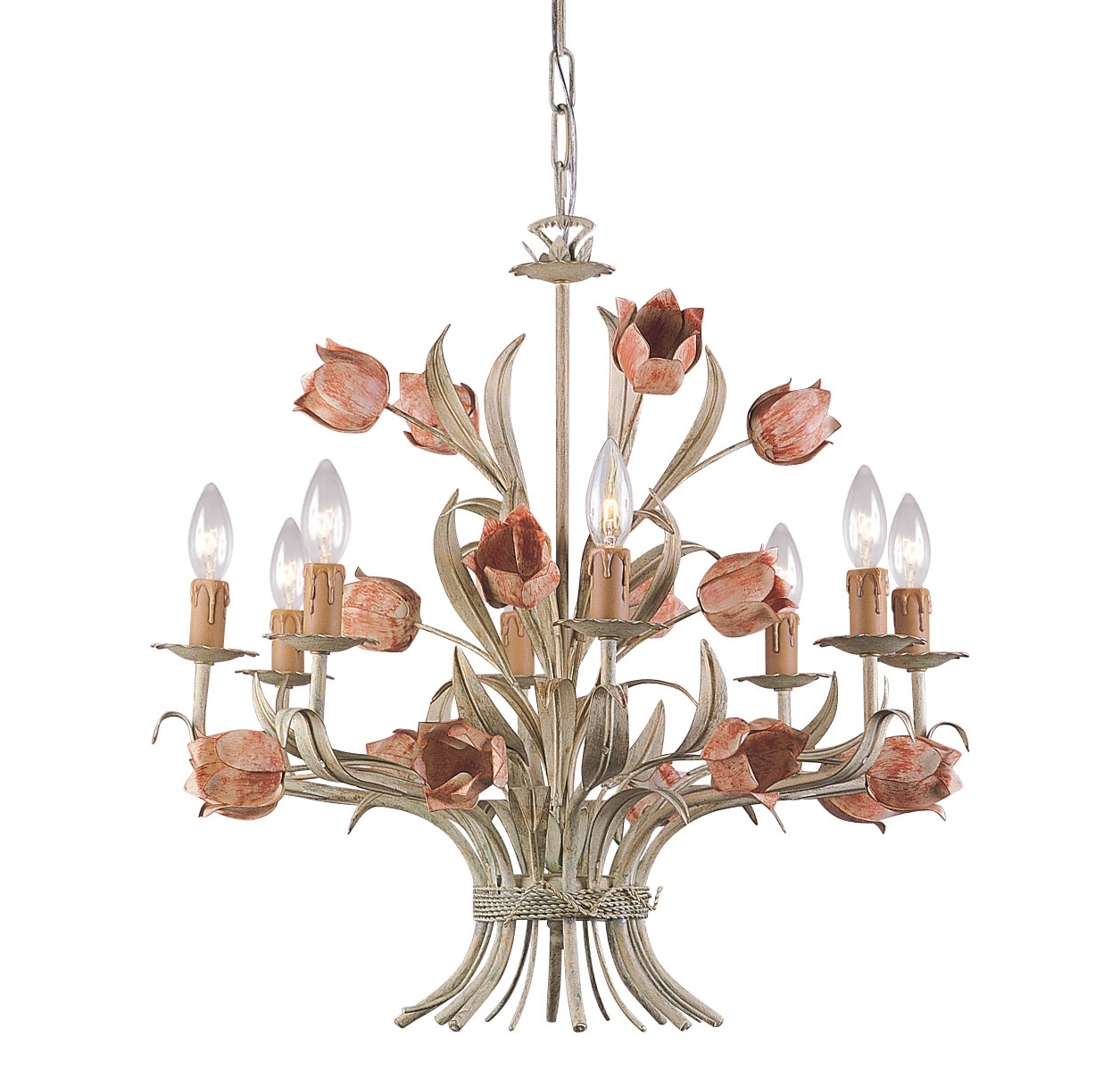 Latest Shabby Chic Dining Room Lighting (Reviews/ratings/prices) With Shabby Chic Chandeliers (View 6 of 15)