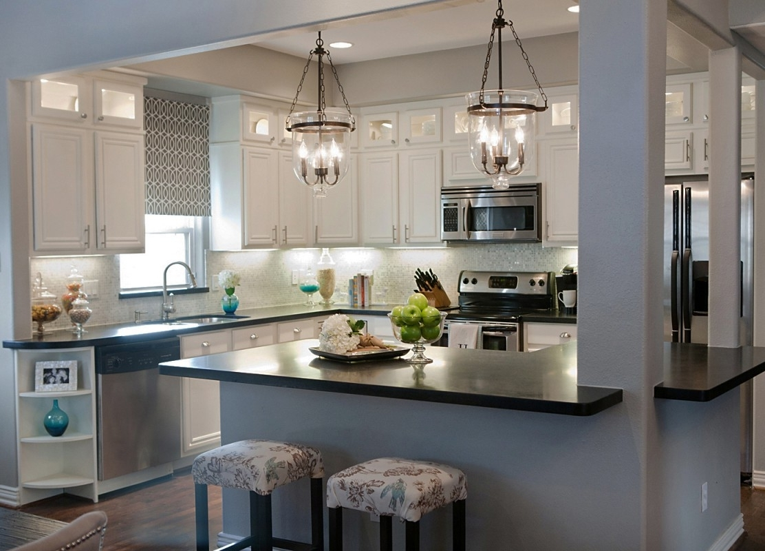 Light Fixture : Glass Pendant Lights For Kitchen Island Rustic Intended For Best And Newest Small Rustic Kitchen Chandeliers (View 7 of 15)