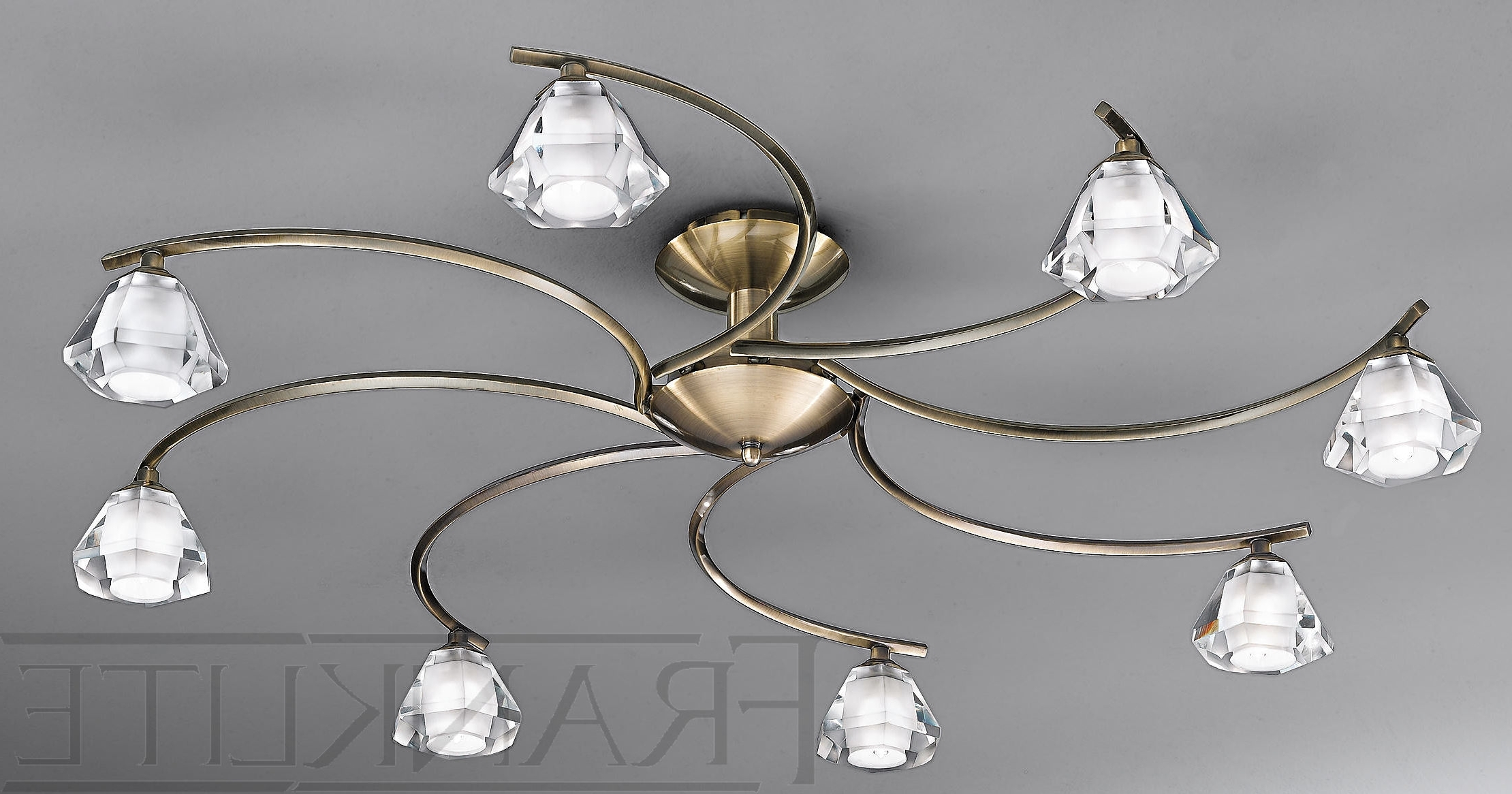 Lighting For Low Ceilings, Dramatic Lighting For Low Ceilings Design Pertaining To Famous Low Ceiling Chandeliers (View 5 of 15)
