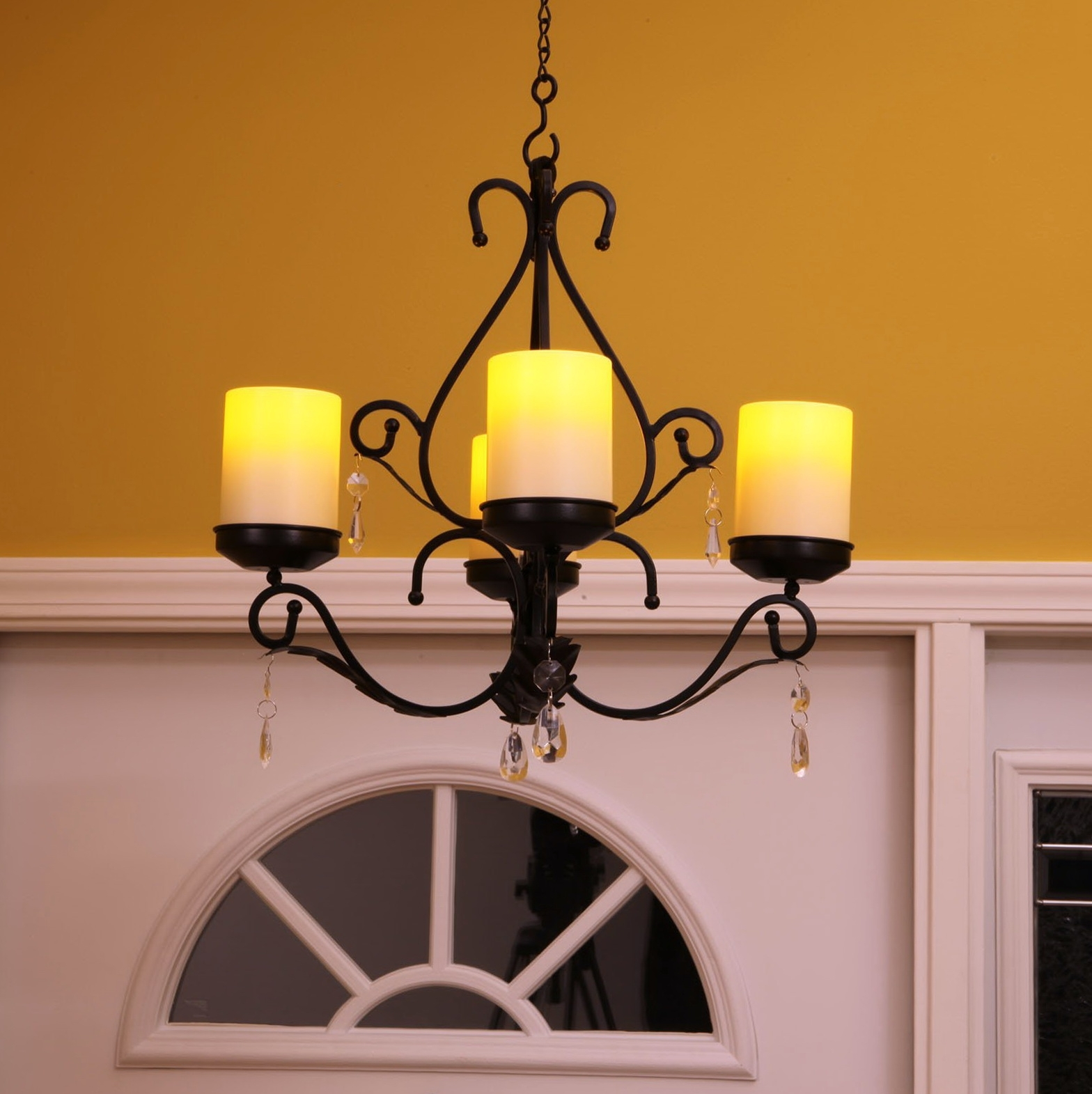 Lighting: Non Electric Chandelier For Unique Interior Lights Design Pertaining To 2017 Hanging Candle Chandeliers (View 11 of 15)