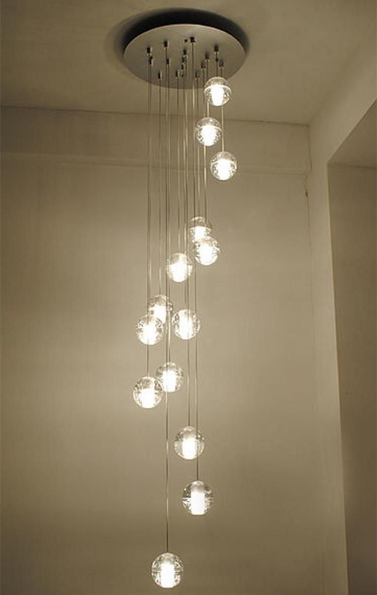 Lighting : Pendant Fixture Hanging Ceiling Light Fixtures Orange Regarding Most Popular Large Modern Chandeliers (View 9 of 15)