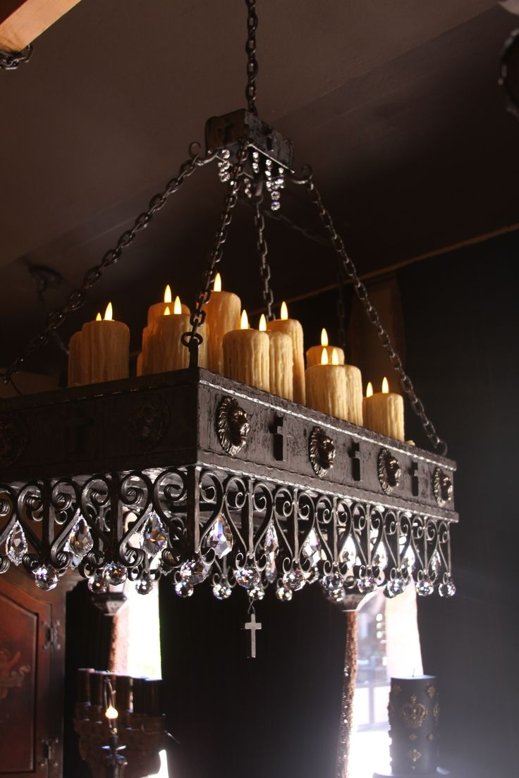 Lighting: Wonderful Candle Chandelier Non Electric For Modern Lights Pertaining To Well Known Hanging Candle Chandeliers (View 3 of 15)