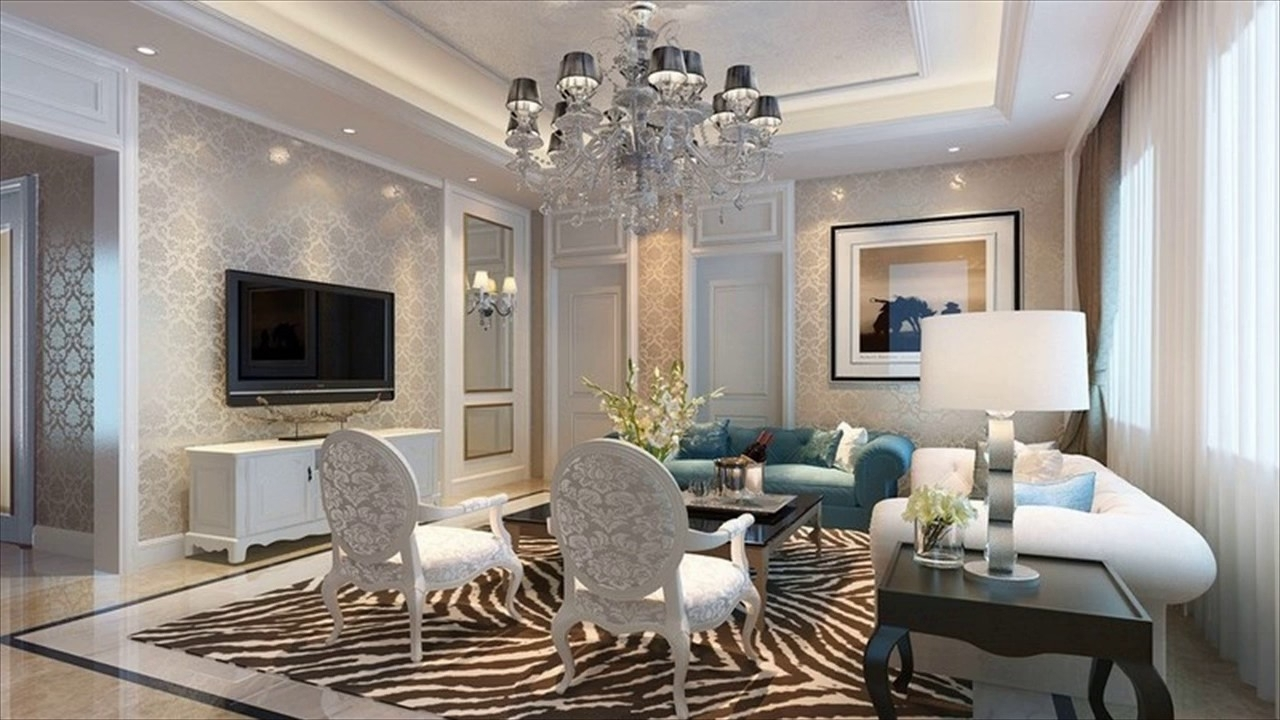 Living Room Ceiling Lights Ideas – Youtube For Newest Living Room Chandeliers (View 5 of 15)