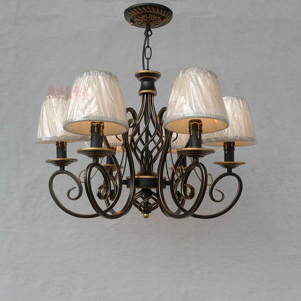 Loft Style Suspension Retro Chandeliers For The Bedroom E14 Ac 220V With Regard To Latest Retro Chandeliers (View 5 of 15)