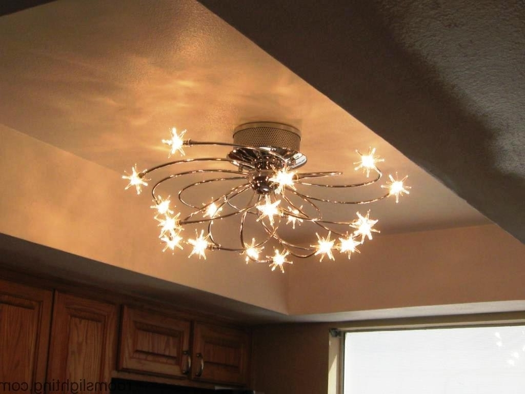Low Ceiling Chandelier Intended For Most Up To Date Low Ceiling Chandelier Ideas (View 13 of 15)