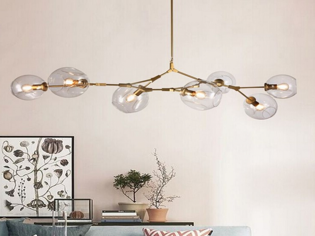 Lucinda Branch Chandelier Pertaining To Current Lucinda Branch Chandelier Chandelier Led Branch Reviews Online (View 8 of 15)