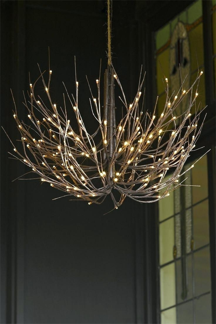 Lucinda Branch Chandelier With Most Recently Released Twig Chandelier – Medpharmjobs (View 12 of 15)