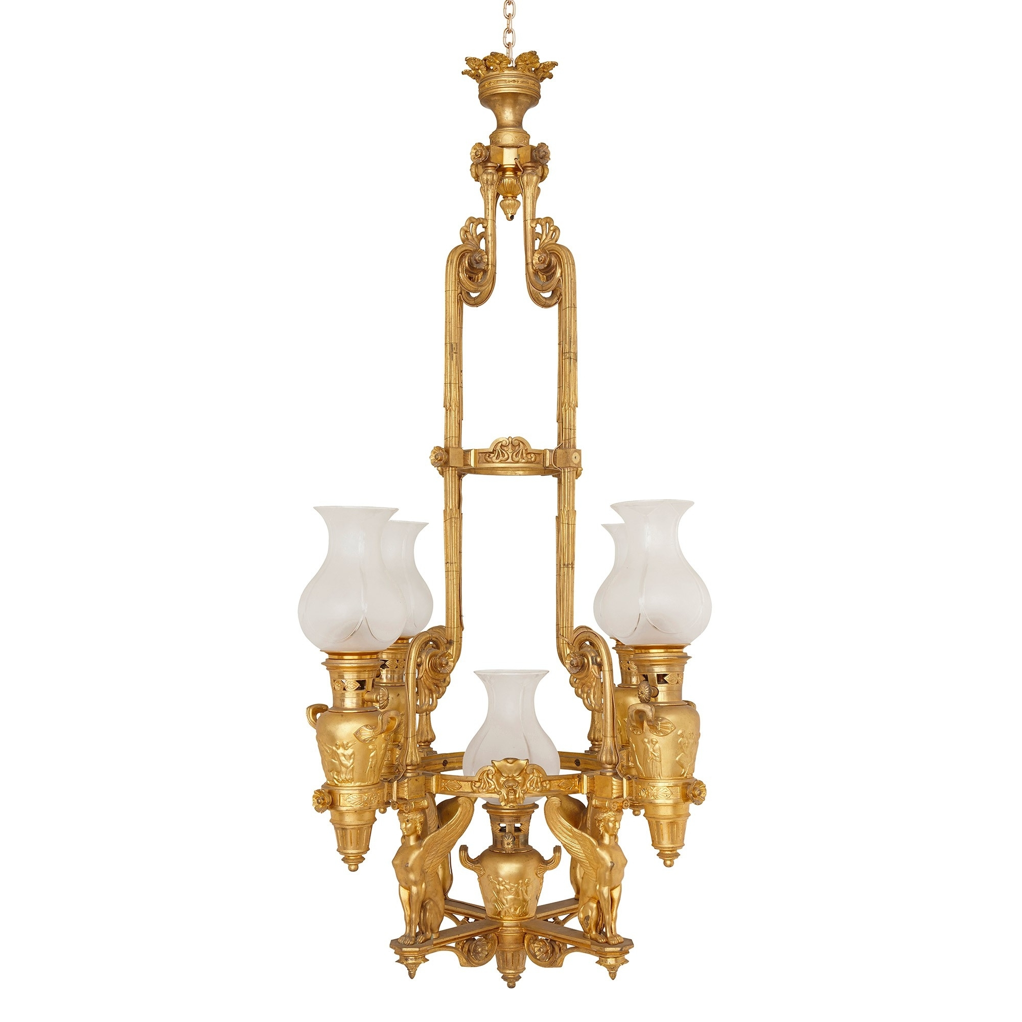 Mayfair Gallery In French Antique Chandeliers (View 13 of 15)